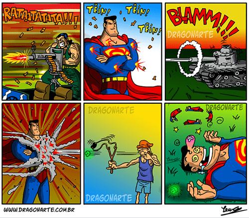 kryptonite superman web comics