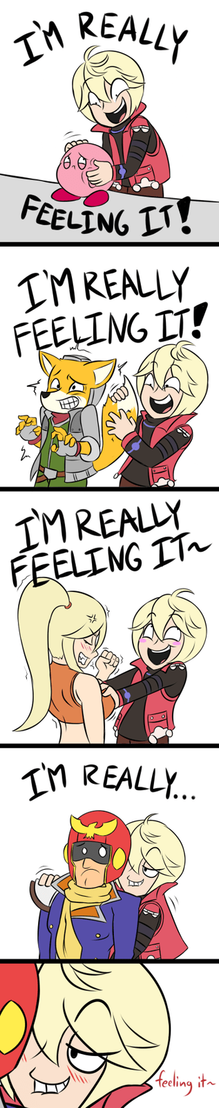 super smash bros shulk i'm really feeling it captain falcon - 8358344448