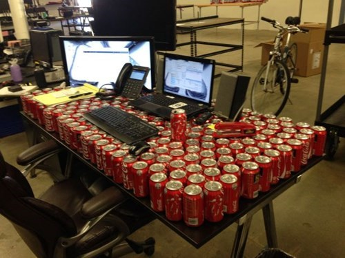 monday thru friday soda prank g rated. - 8358346752