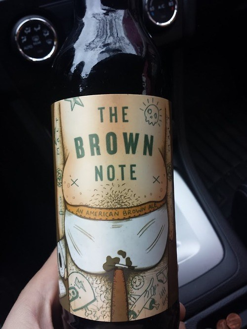 beer brown note bad idea funny - 8358407168