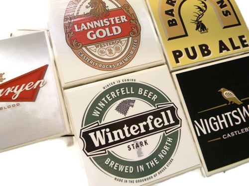 beer,coasters,Game of Thrones,for sale