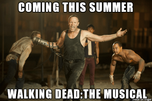 jazz hands merle dixon The Walking Dead - 8358458368