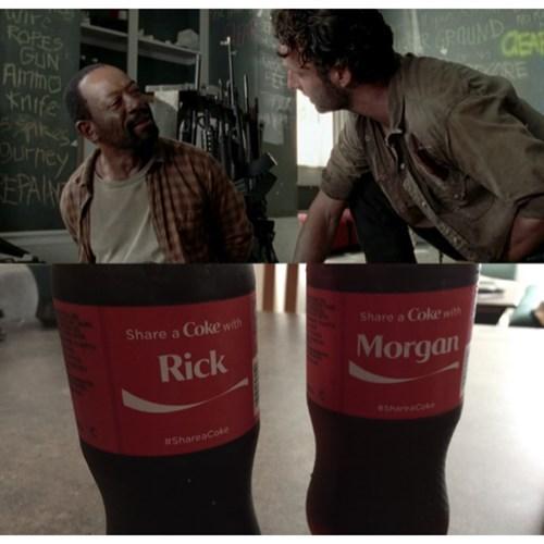 Rick Grimes share coke - 8358471424