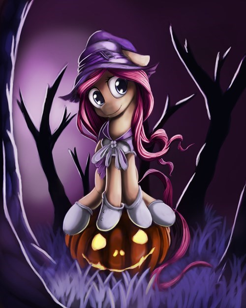 Fan Art,nightmare night,fluttershy