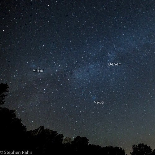 Astronomy stars summer triangle - 8360529152