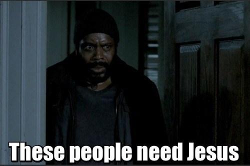 jesus tyreese The Walking Dead - 8360794624