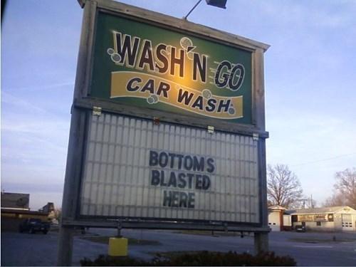 monday thru friday sign car wash - 8360803840