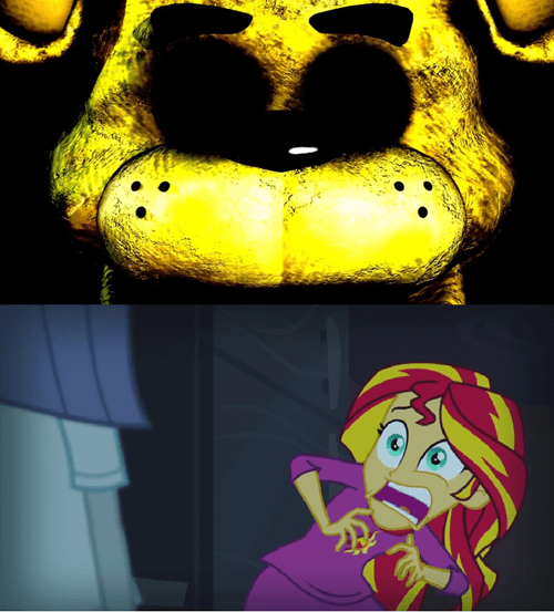 sunset shimmer five night at freddy's - 8360910080