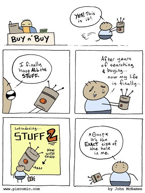 consumerism in this economy sad but true web comics