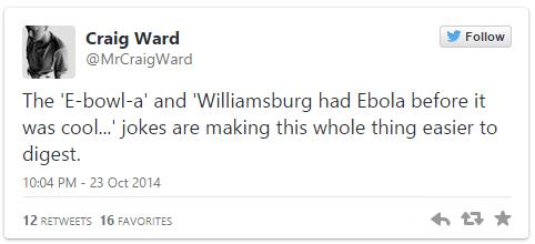 twitter puns ebola - 8360964864