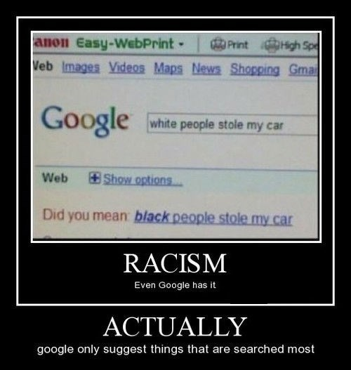 funny google search racist - 8360982016