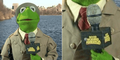 kermit the frog twitter list Good Morning America Memes tea lizard - 836101
