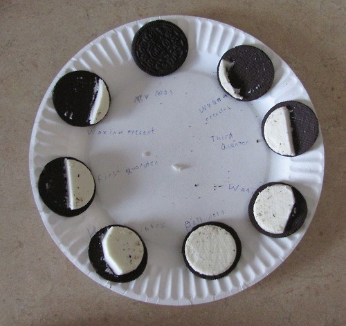 moon,funny,phases,oreo,g rated,School of FAIL