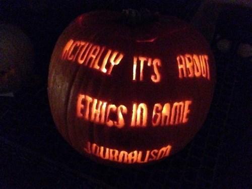 halloween pumpkins gamergate - 8361104384