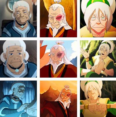 Avatar cartoons korra