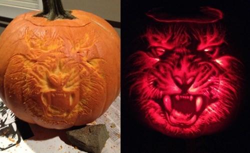 decoration carving halloween pumpkins - 8361291520