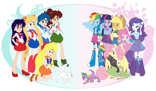 equestria girls sailor moon face off - 8361511936