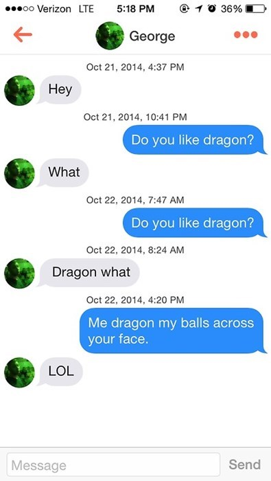 dragon,funny,pickup lines,text,dating