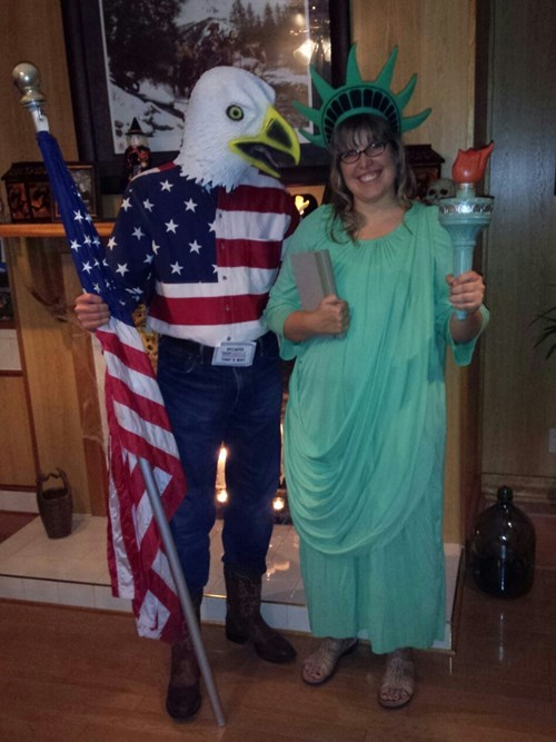 halloween Statue of Liberty - 8361982464