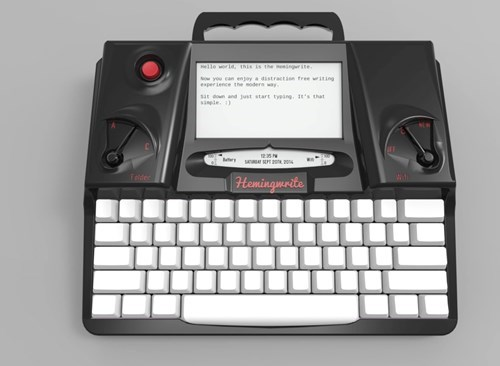 inventions,shut up and take my money,writing,hemingwrite