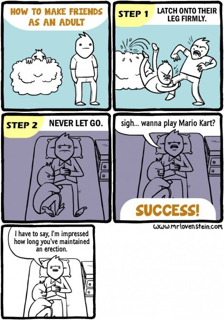 Mario Kart,friends,sad but true,boner,web comics