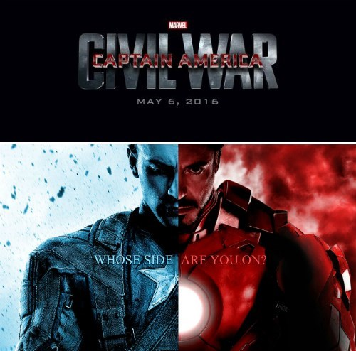 Movie - MARVEL CAPTAIN AMERICA UAA MAY 6, 2016 WHOSE SIDE ARE YOU ON?