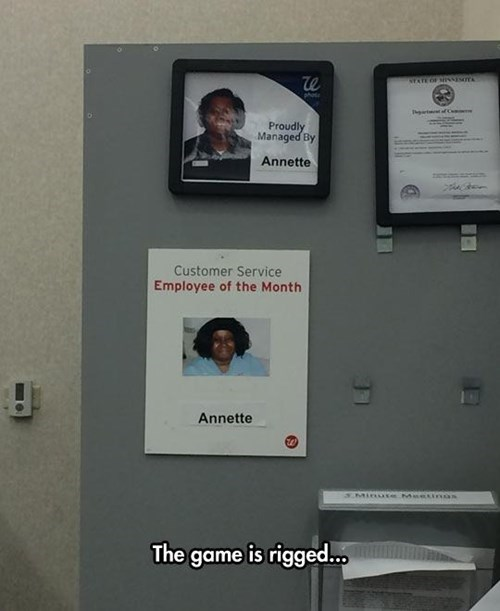 jobs,employee of the month