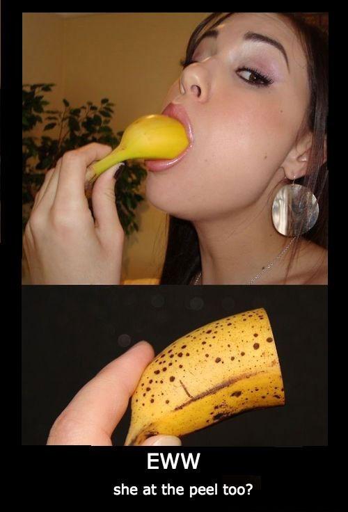 wtf banana eww funny - 8362144256