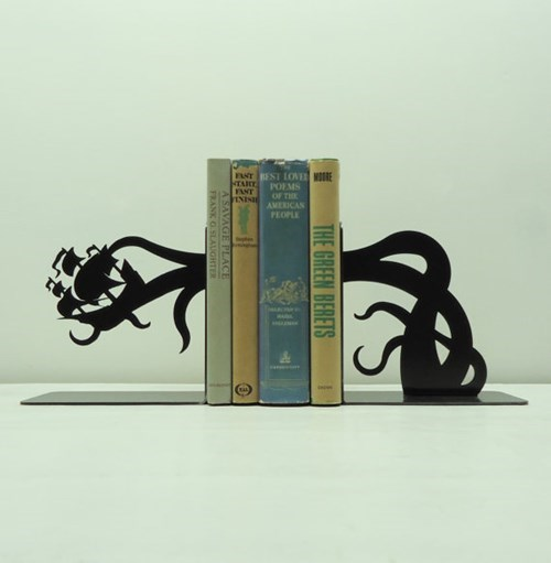 bookends,for sale,books,cthulhu