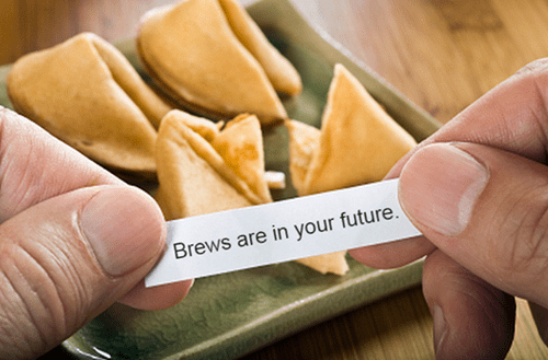 fortune cookie beer wtf funny - 8362219264