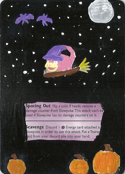 halloween cards slowpoke - 8362234880