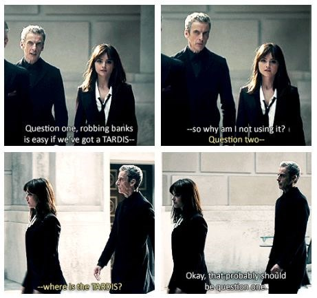 clara oswin oswald 12th Doctor