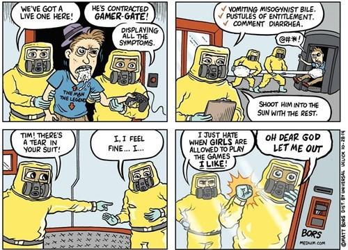 ebola gamergate web comics - 8362308864
