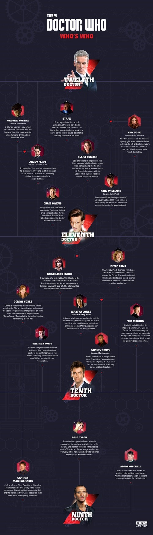 the doctor companion infographic - 8362923520