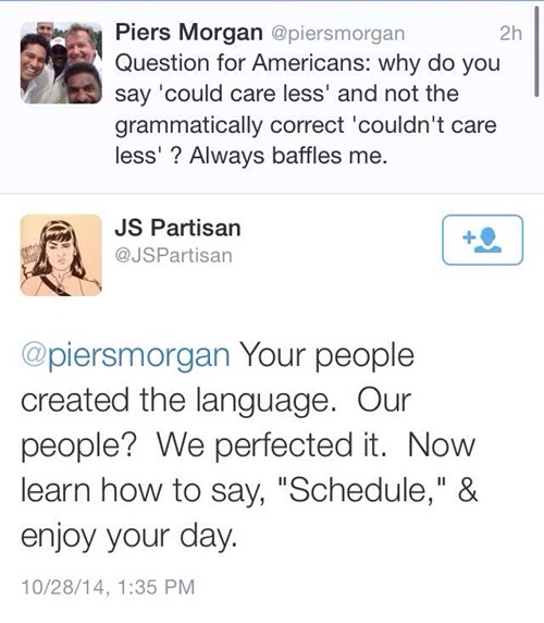 Piers Morgan twitter england