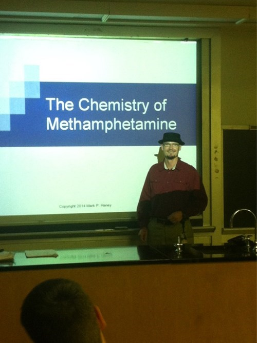 breaking bad school meth walter white Chemistry - 8363148544