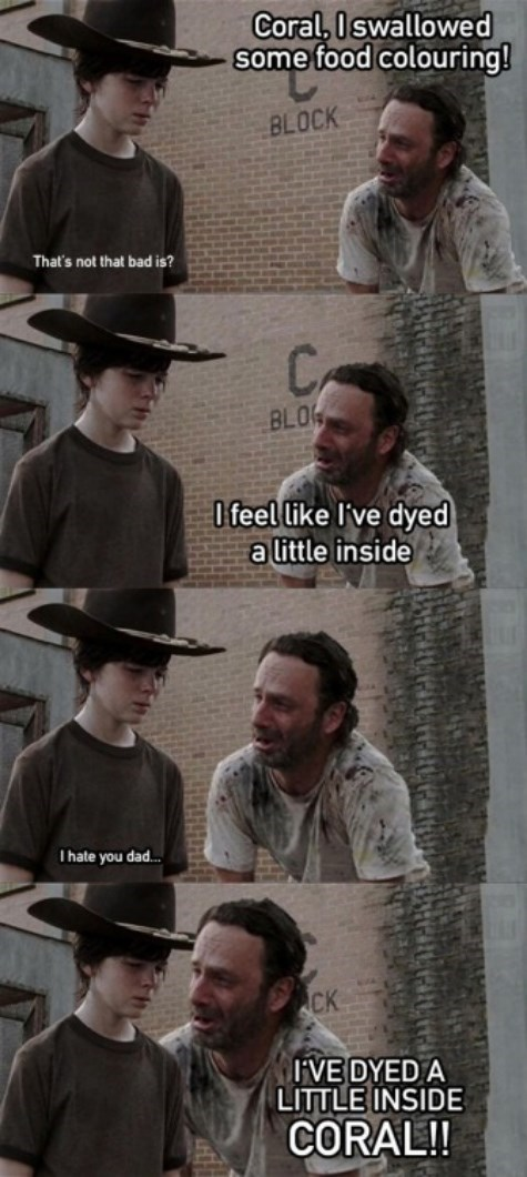 Walking Dad Jokes Rick Grimes - 8363149824