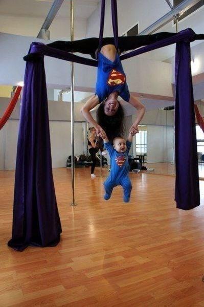 kids aerial parenting superman - 8363192832