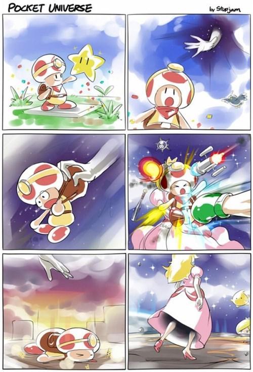 princess peach super smash bros captain toad web comics - 8363206144