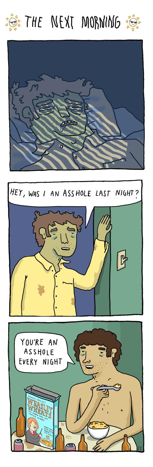 drunk sad but true hangover web comics - 8363282688