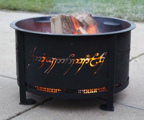 Lord of the Rings,fire,nerdgasm,DIY