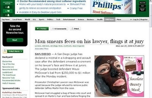 advertisement Probably bad News juxtaposition - 8363339008