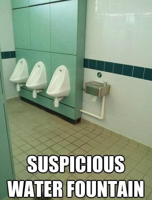 bathrooms urinals water fountains - 8364022016