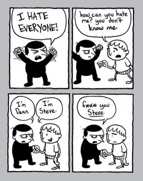 hate advice socially awkward web comics