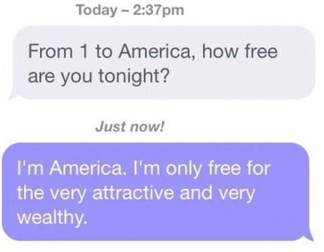 america texting