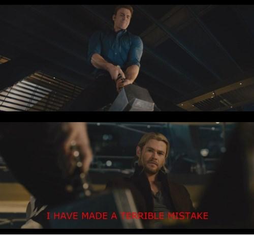 captain america mjolnir Thor - 8364231936