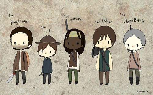 Fan Art role The Walking Dead - 8364252928