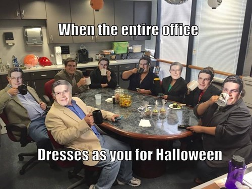 halloween costumes,halloween,office pranks