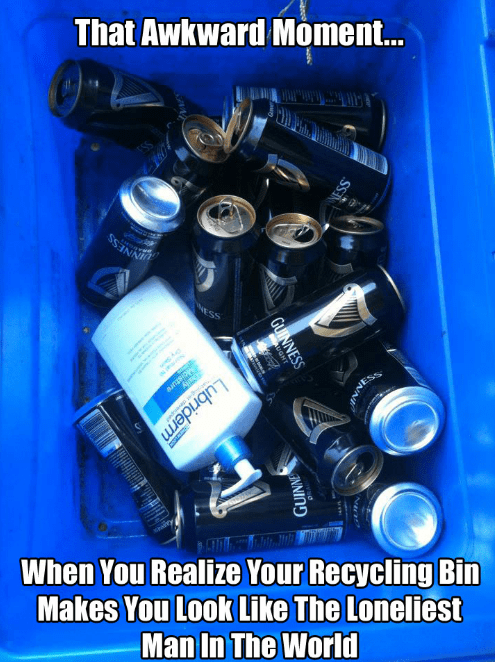 beer funny recycling relationships - 8364285184