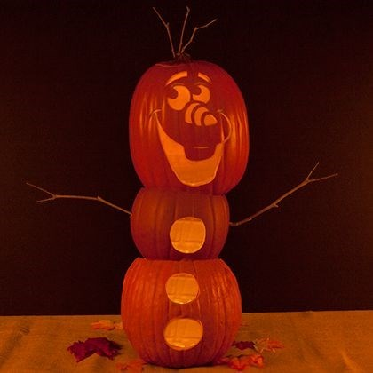 jack o lanterns frozen halloween pumpkins olaf - 8364312576